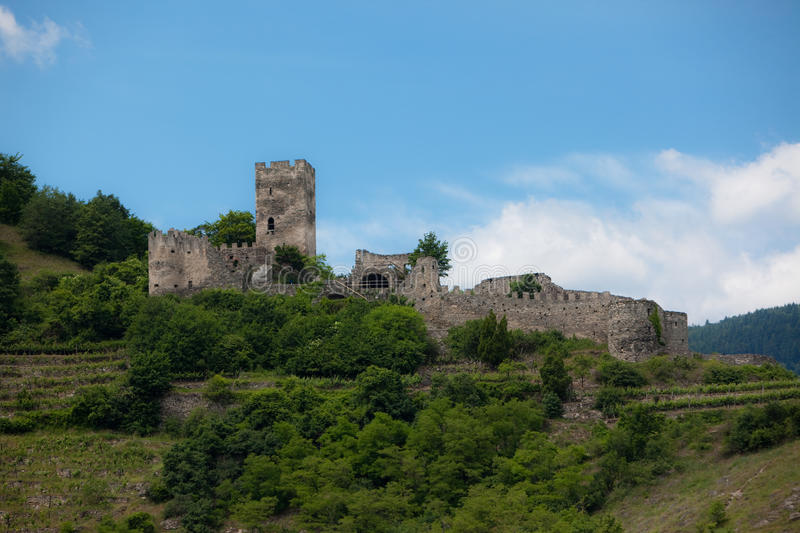 Castle Ruins royalty free stock image