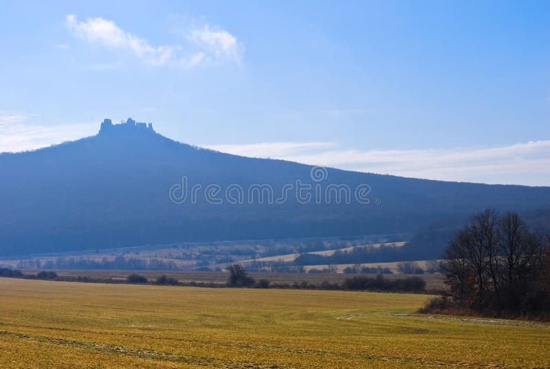 Download Castle ruins stock photo. Image of predominate, middle - 14854500