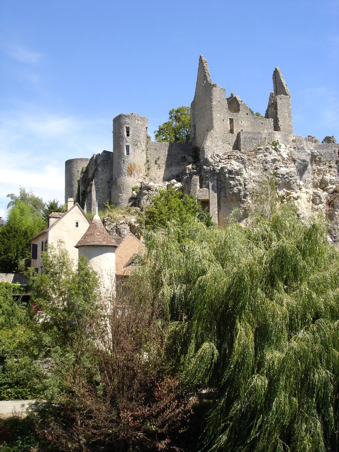Download Castle Ruins In France Royalty Free Stock Photo - Image: 7263925
