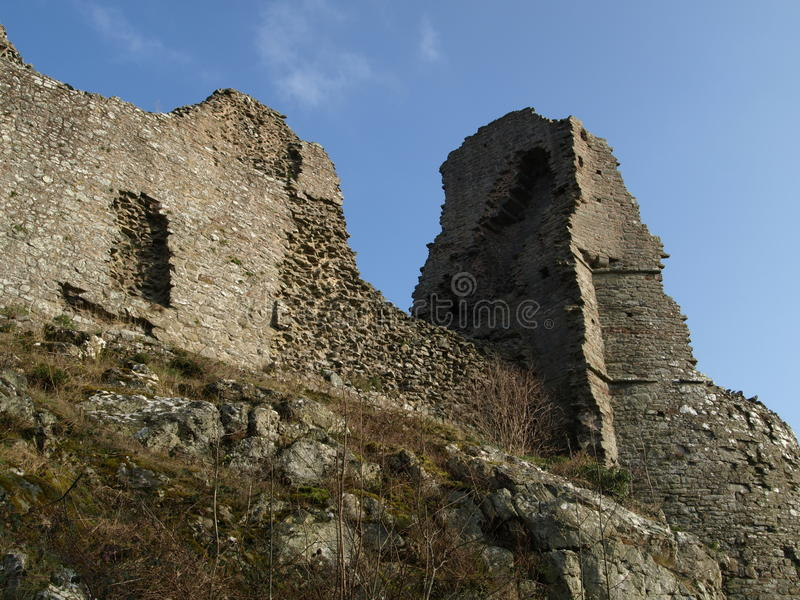 Castle Ruins royalty free stock images