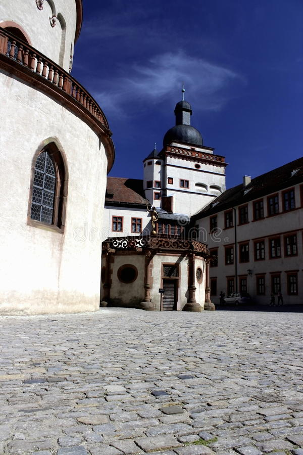 Download A Castle Courtyard, Germany Stock Photo - Image: 32233468