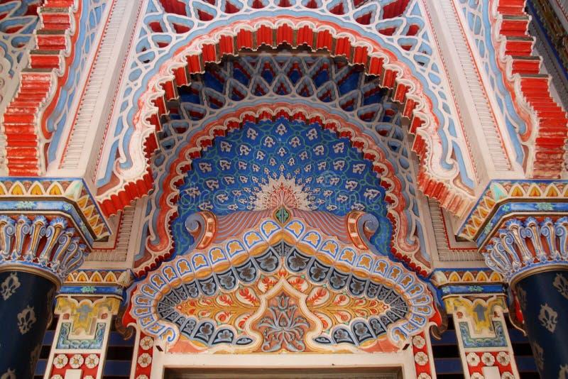 castle sammezzano moorish architecture editorial stock photo