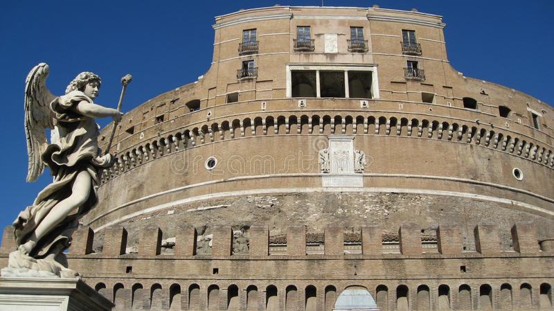 Castle San Angelo Rome Italy stock photos