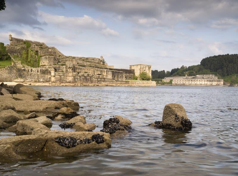 Download Castle Of San Felipe And La Palma In Ferrol Stock Illustration - Image: 25196778