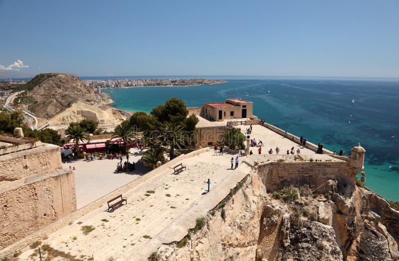 Download Castle Santa Barbara In Alicante, Spain Editorial Image - Image: 24672700