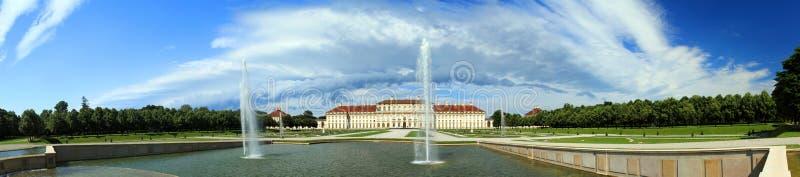 Castle Schleissheim, Munich, Germany. Castle Schleissheim panorama, Munich, Germany royalty free stock photos