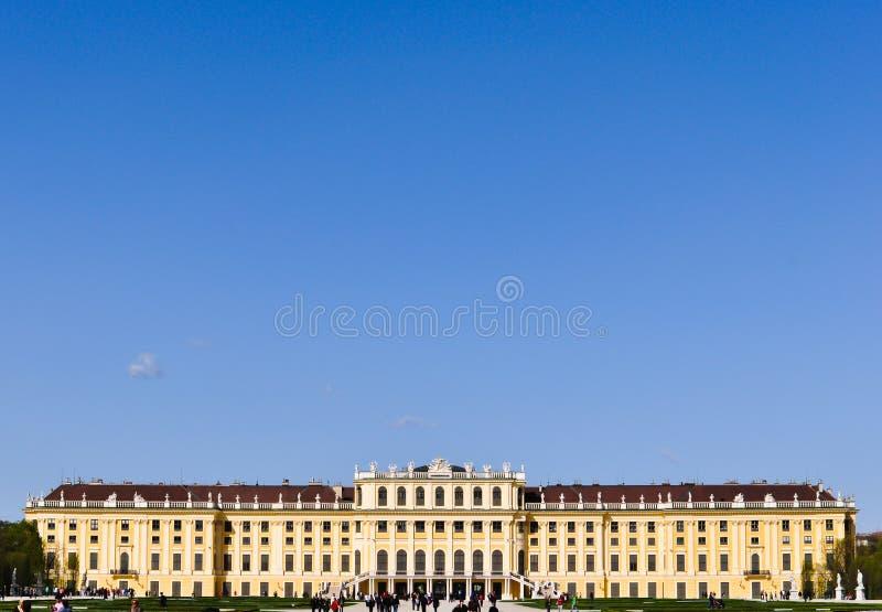 Castle schoenbrunn, vienna, austria royalty free stock photos