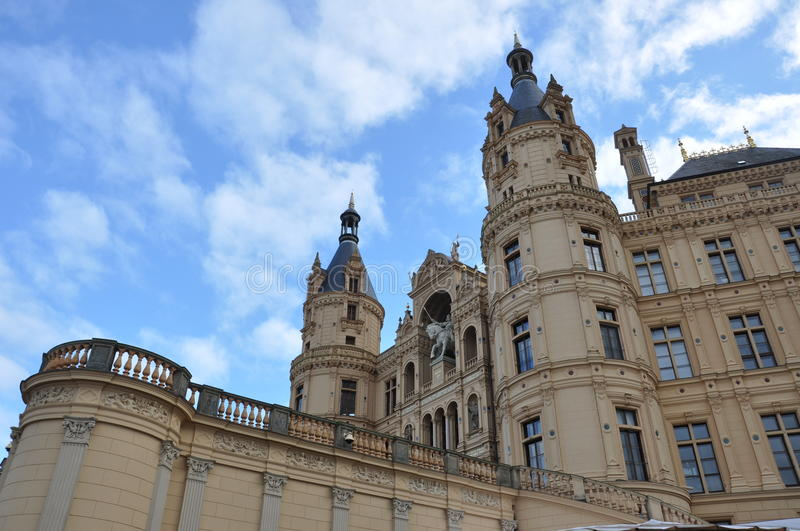 Castle in Schwerin (Germany) royalty free stock photography