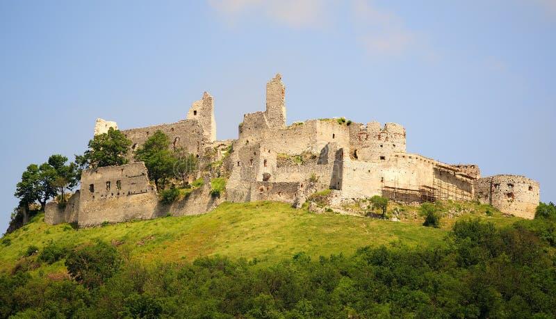 Plavecky hrad, Slovakia stock images