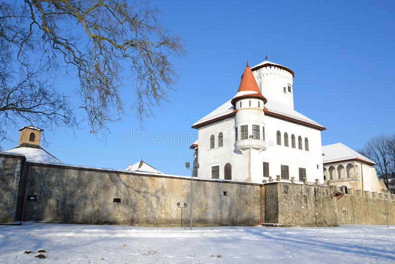 Castle Budatin Zilina stock photography