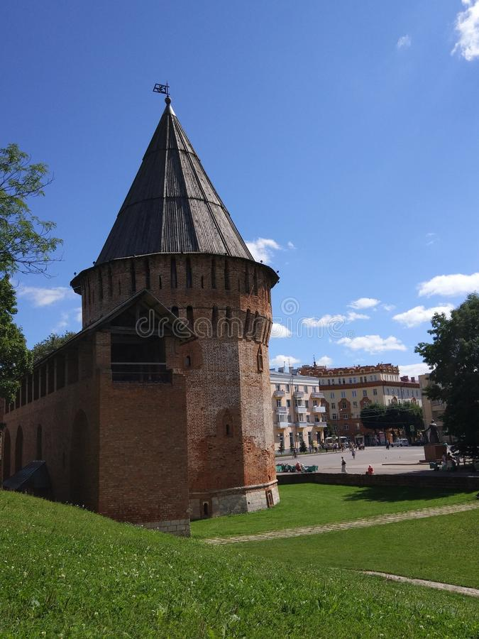 Castle in Smolensk royalty free stock photography