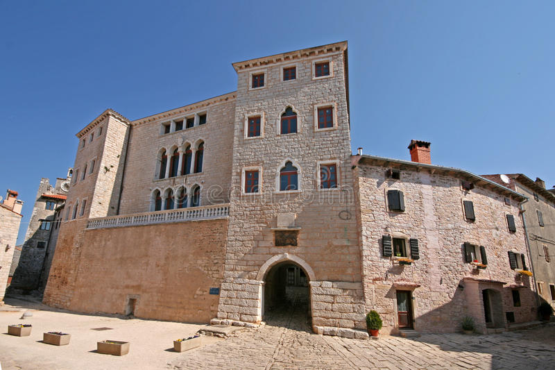 Castle Soardo Bembo in Bale royalty free stock images