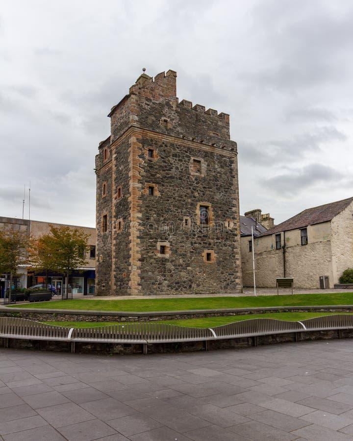 Castle ST John σε Stranraer, Σκωτία, Ηνωμένο Βασίλειο στοκ εικόνα με δικαίωμα ελεύθερης χρήσης