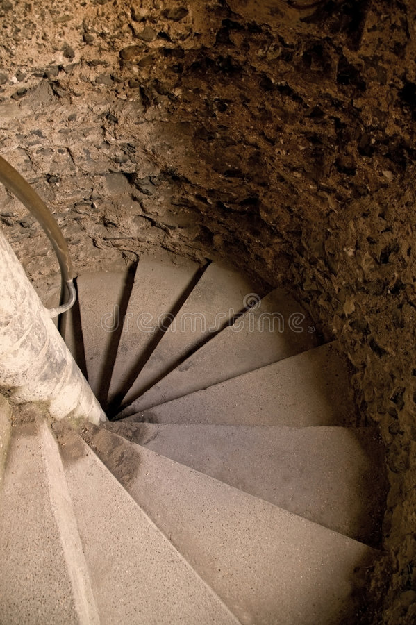 Download Castle stairwell stock image. Image of castle, round, 18th - 2994489