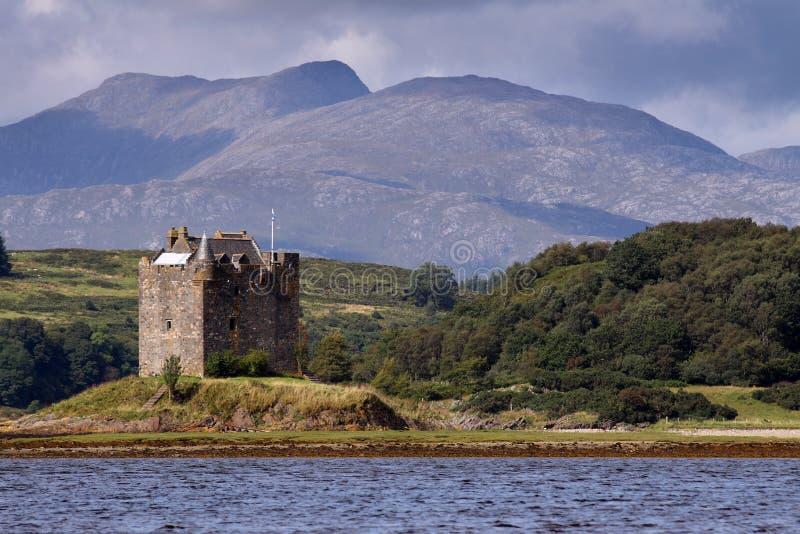 Castle Stalker royalty free stock photo