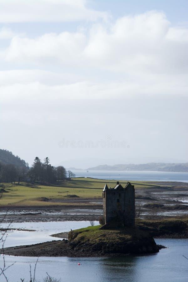 Castle Stalker, Scottland stock image