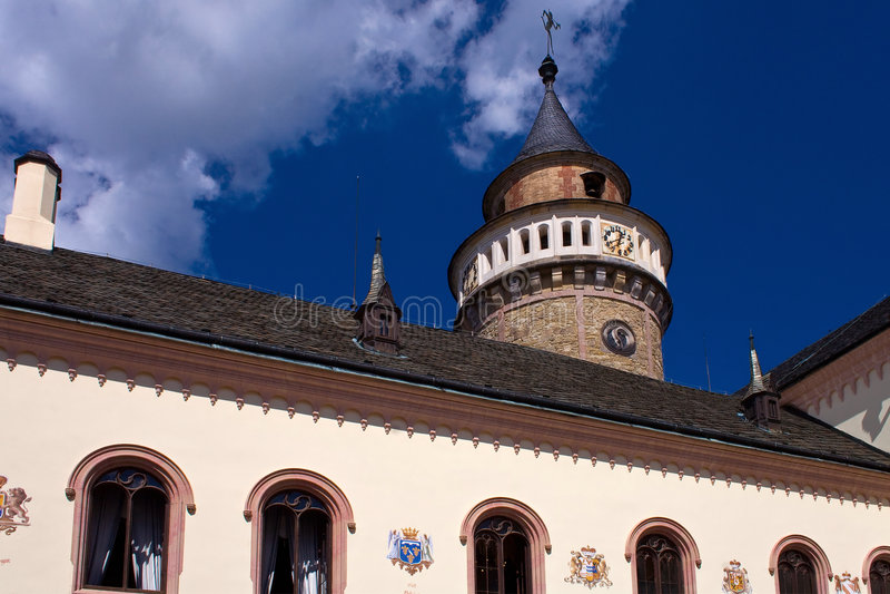Castle Sychrov stock photography