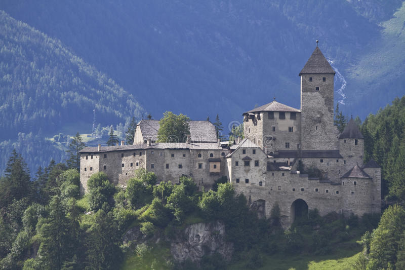 Castle Taufers stock images