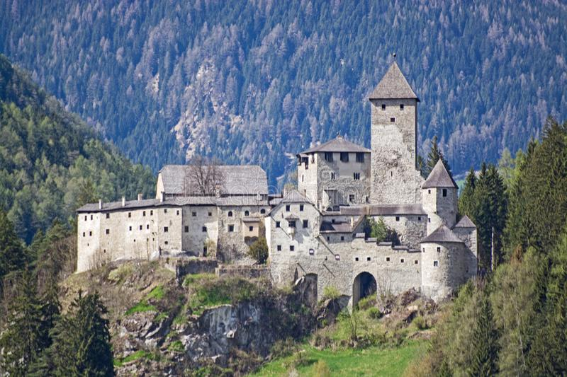 Castle Taufers, Trentino-Alto Adige, Italy royalty free stock images