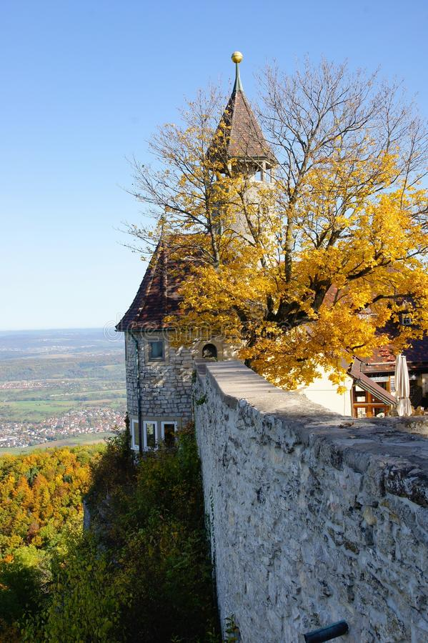 Castle Teck στοκ φωτογραφία με δικαίωμα ελεύθερης χρήσης