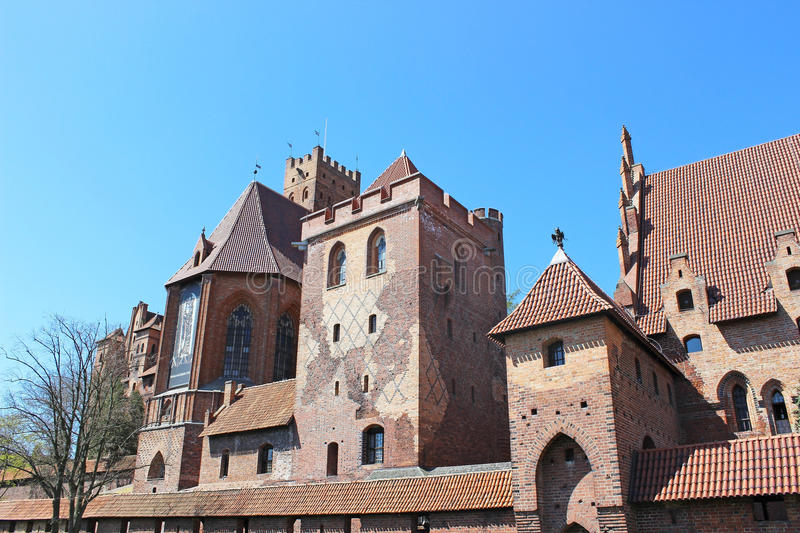 Download The Castle Of The Teutonic Order In Malbork Stock Image - Image of orange, brick: 30835339