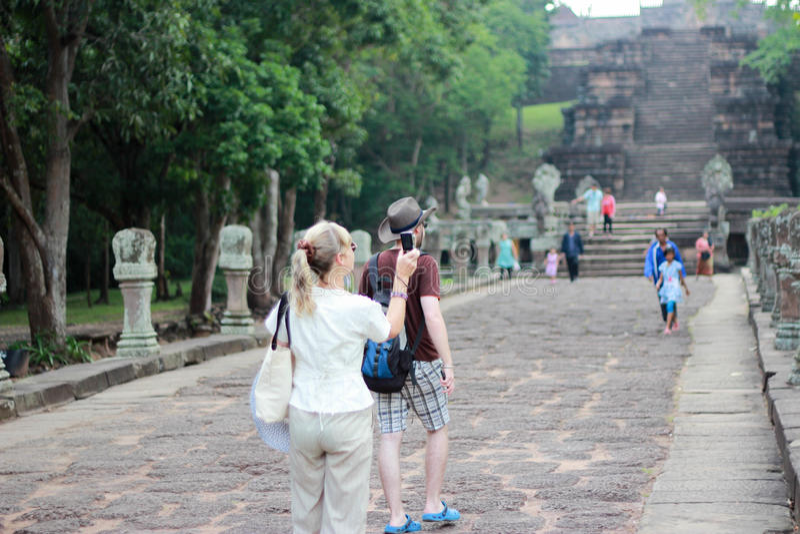 Castle Thailand stock image