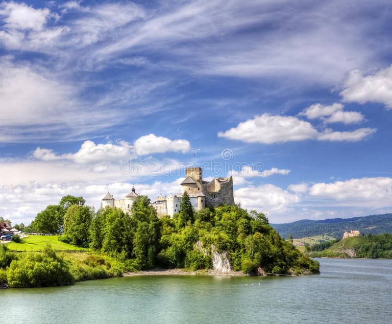Castle On Top Stock Photography