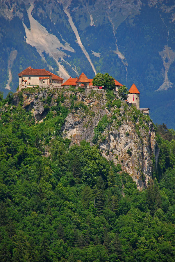 Download Castle At The Top Of The Hill Stock Image - Image: 32449873