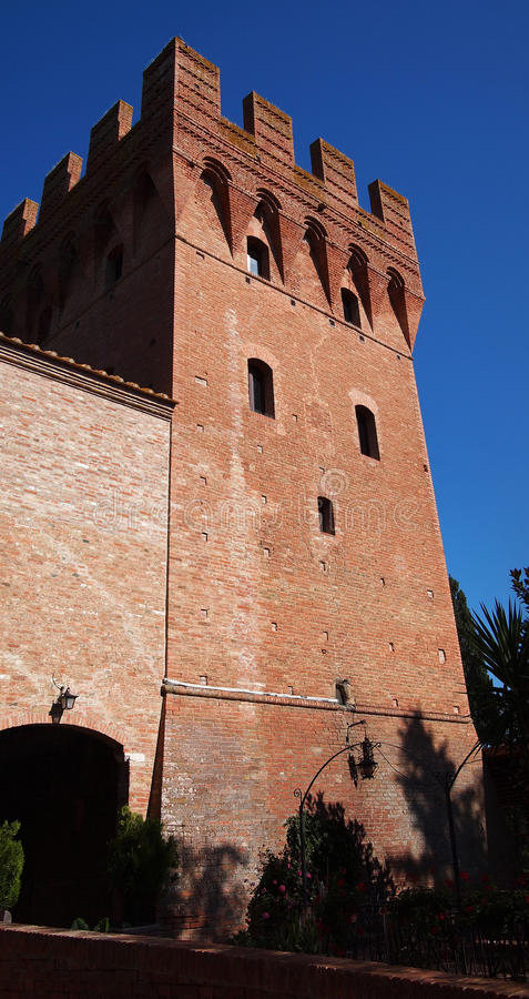 Download Castle tower stock photo. Image of castle, tuscany, medieval - 20417382
