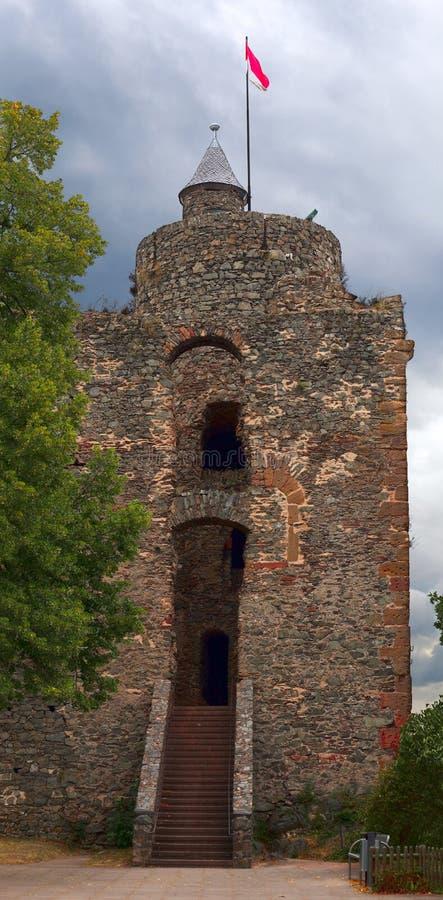 Download Castle tower stock photo. Image of doorframe, deciduous - 26111584