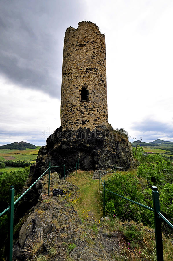 Download Castle tower. stock image. Image of building, europe - 27476449
