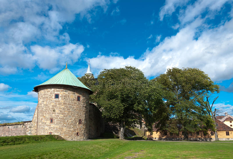 Download Castle tower stock image. Image of scene, nature, fortified - 28366595
