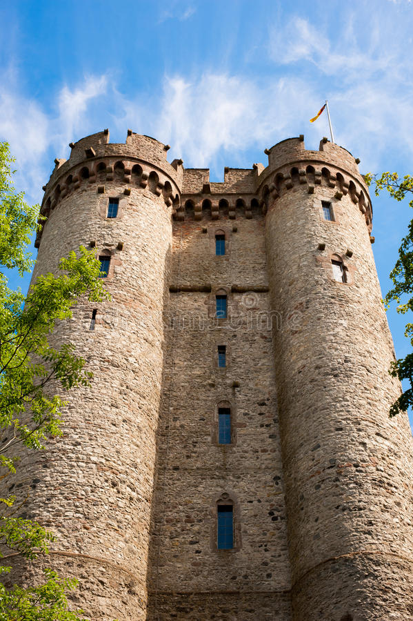 Castle tower in germany