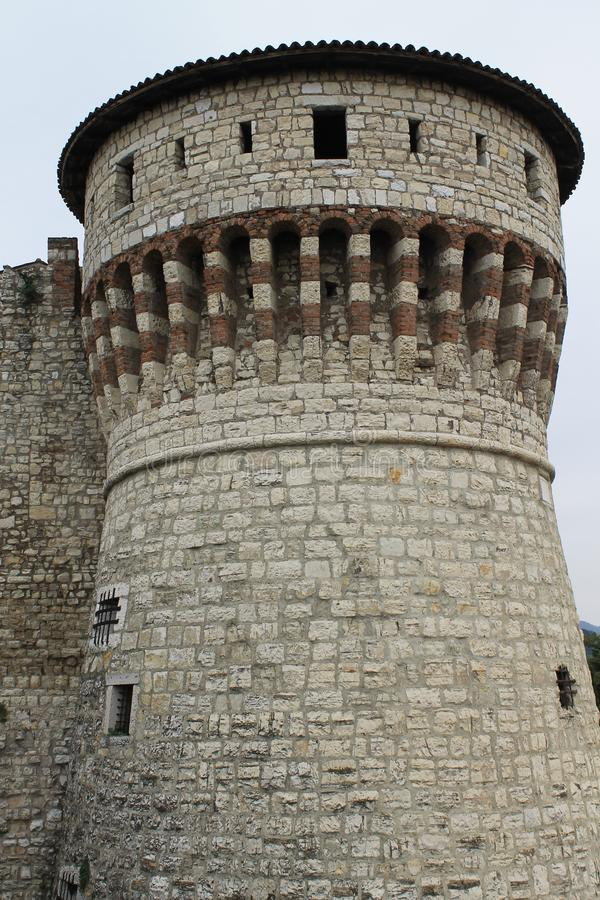 Castle tower royalty free stock photography