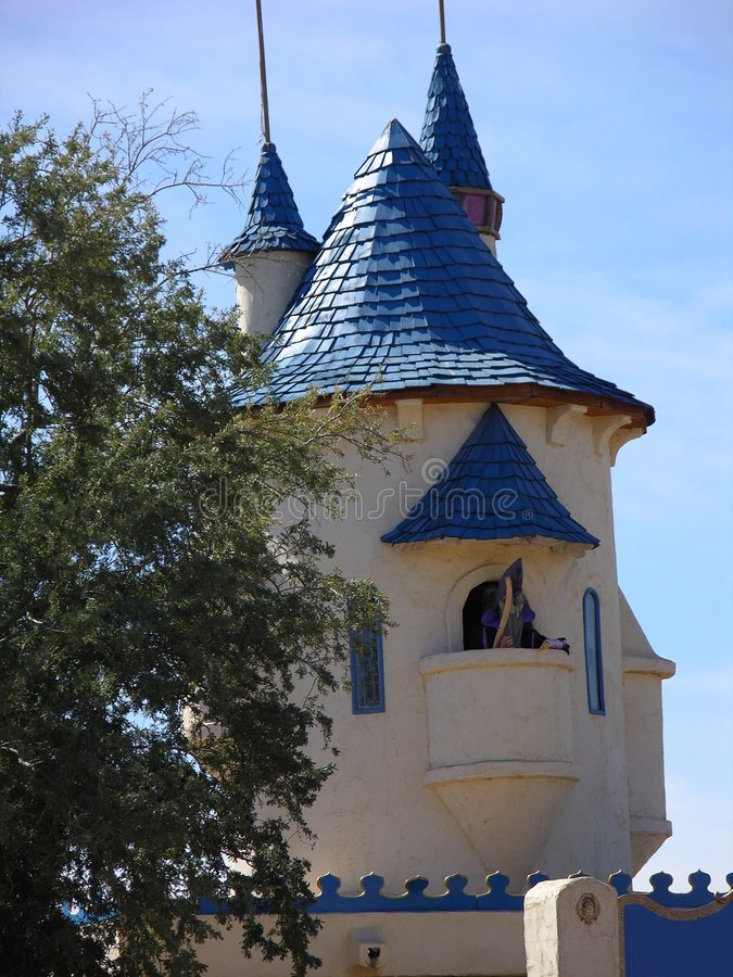 Download Castle Tower Two Stock Photo - Image: 550270