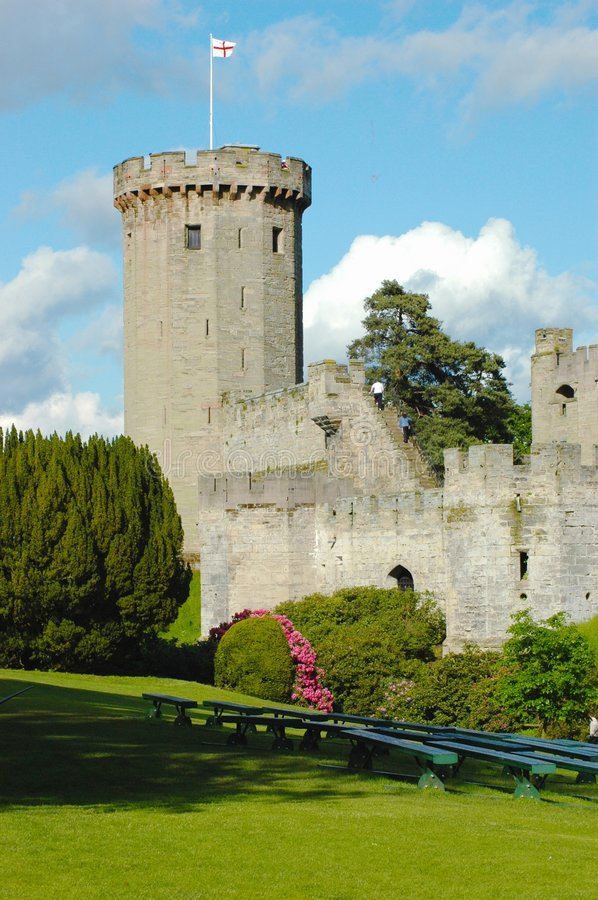 Download Castle tower, Warwick stock photo. Image of high, landmark - 5614188