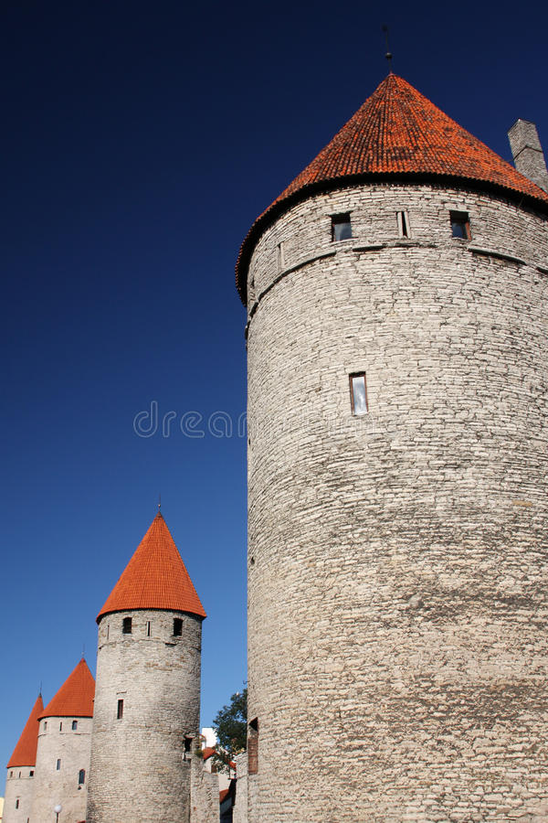 Download Castle towers stock image. Image of estonia, fortress - 20704815