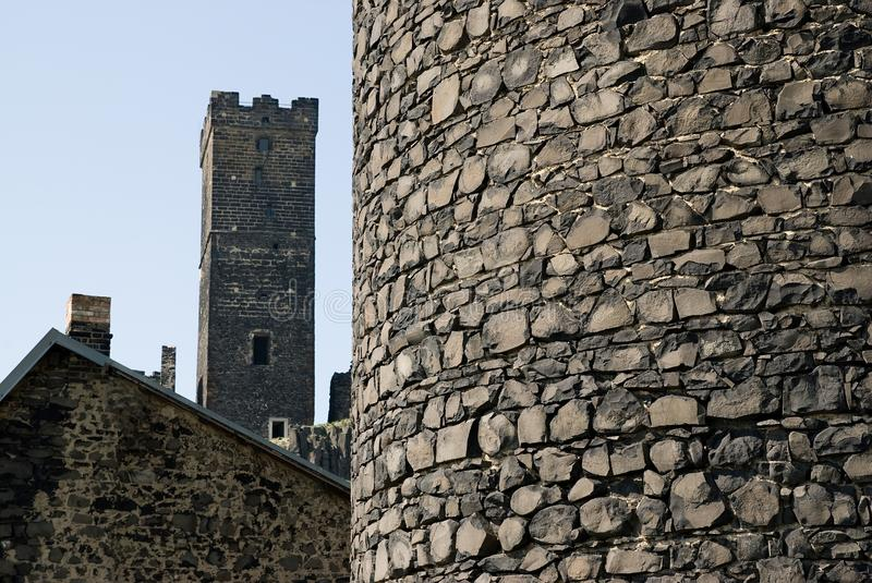 Download Castle towers stock photo. Image of hill, destroyed, power - 28069940