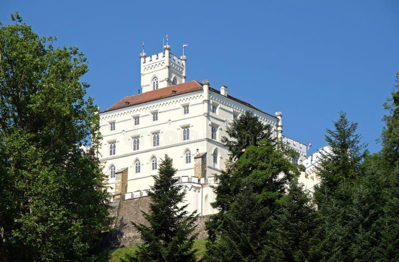 Castle Trakoscan in Croatia stock photos