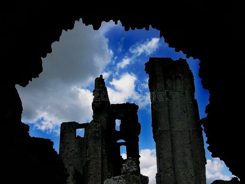 Castle Through The Tunnel stock photos