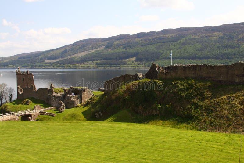Castle Urquhart Royalty Free Stock Photo