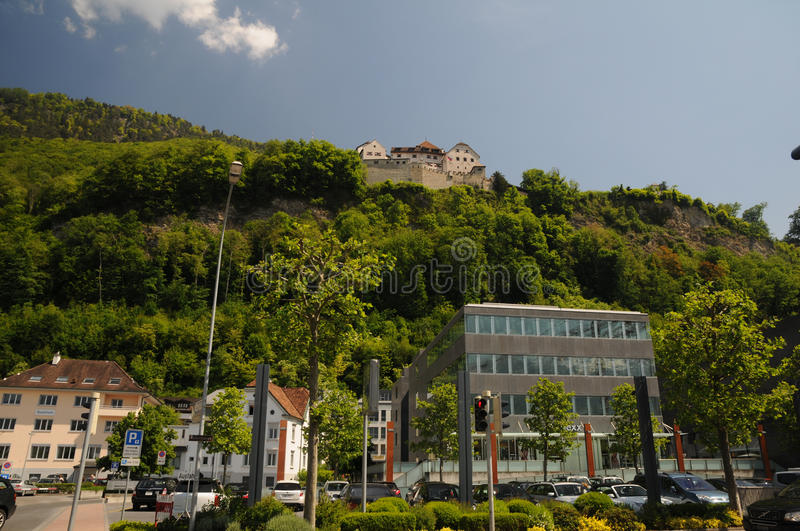 Download Castle Vaduz - View From Center Editorial Stock Image - Image: 19784959