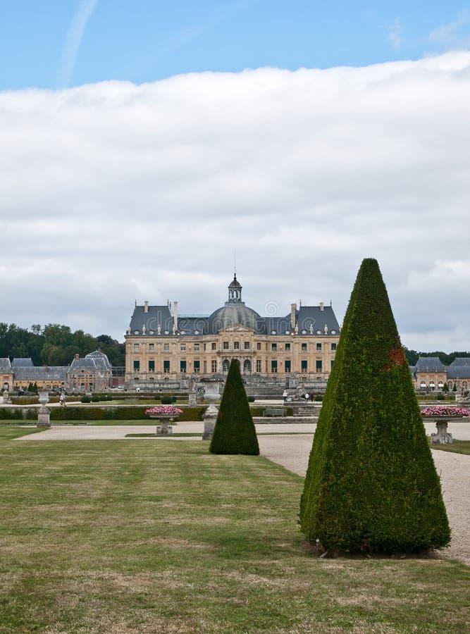 Castle Vaux le Vicomte royalty-vrije stock afbeelding