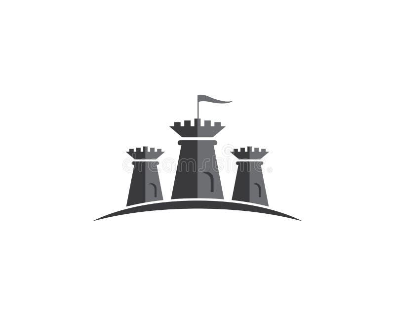 Castle vector icon vector illustration