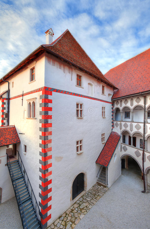 Castle Veliki Tabor, Croatia. royalty free stock photo