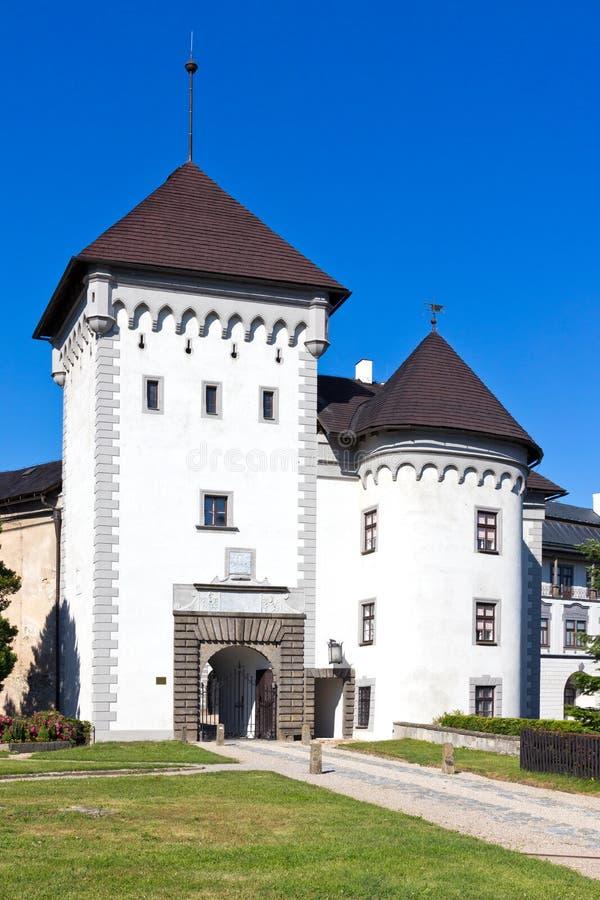 Castle Velke Mezirici, περιφέρεια Vysocina, Τσεχική δημοκρατία, Ευρώπη στοκ εικόνες