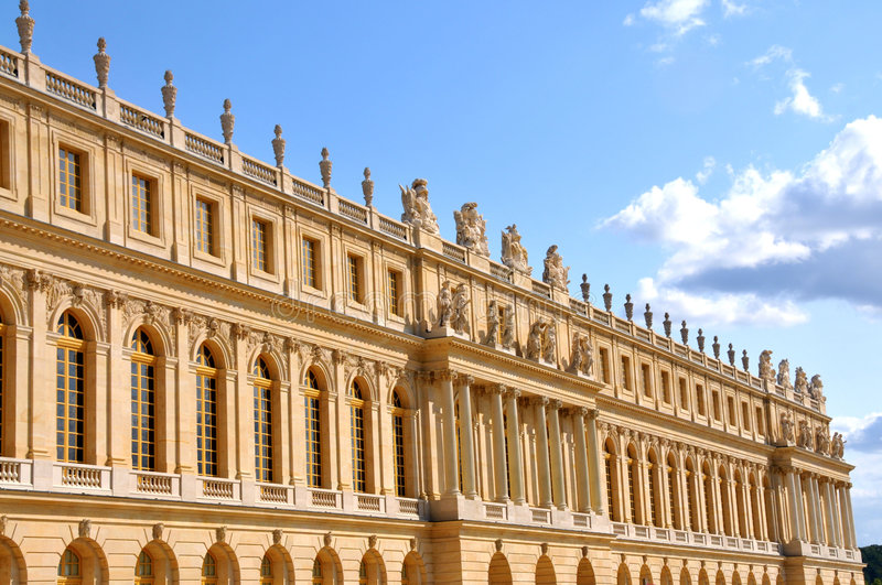 Castle of Versailles - 03 royalty free stock photography