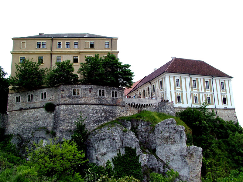 Download Castle of Veszprem stock photo. Image of fantasy, stronghold - 29618