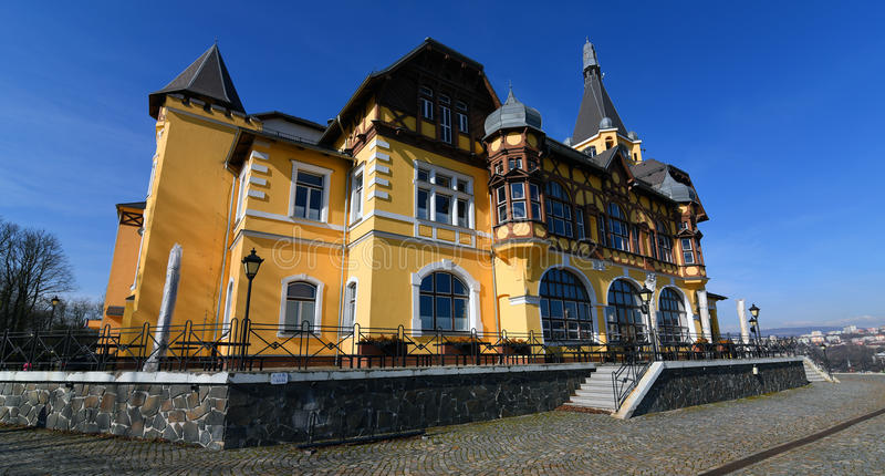 Castle Vetruse in Usti nad Labem stock photography