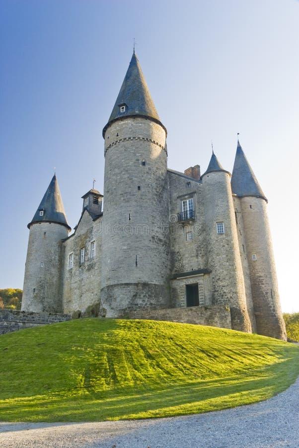 Castle Veves, Belgium royalty free stock image